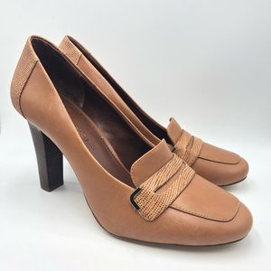 Banana Republic Leather Heels